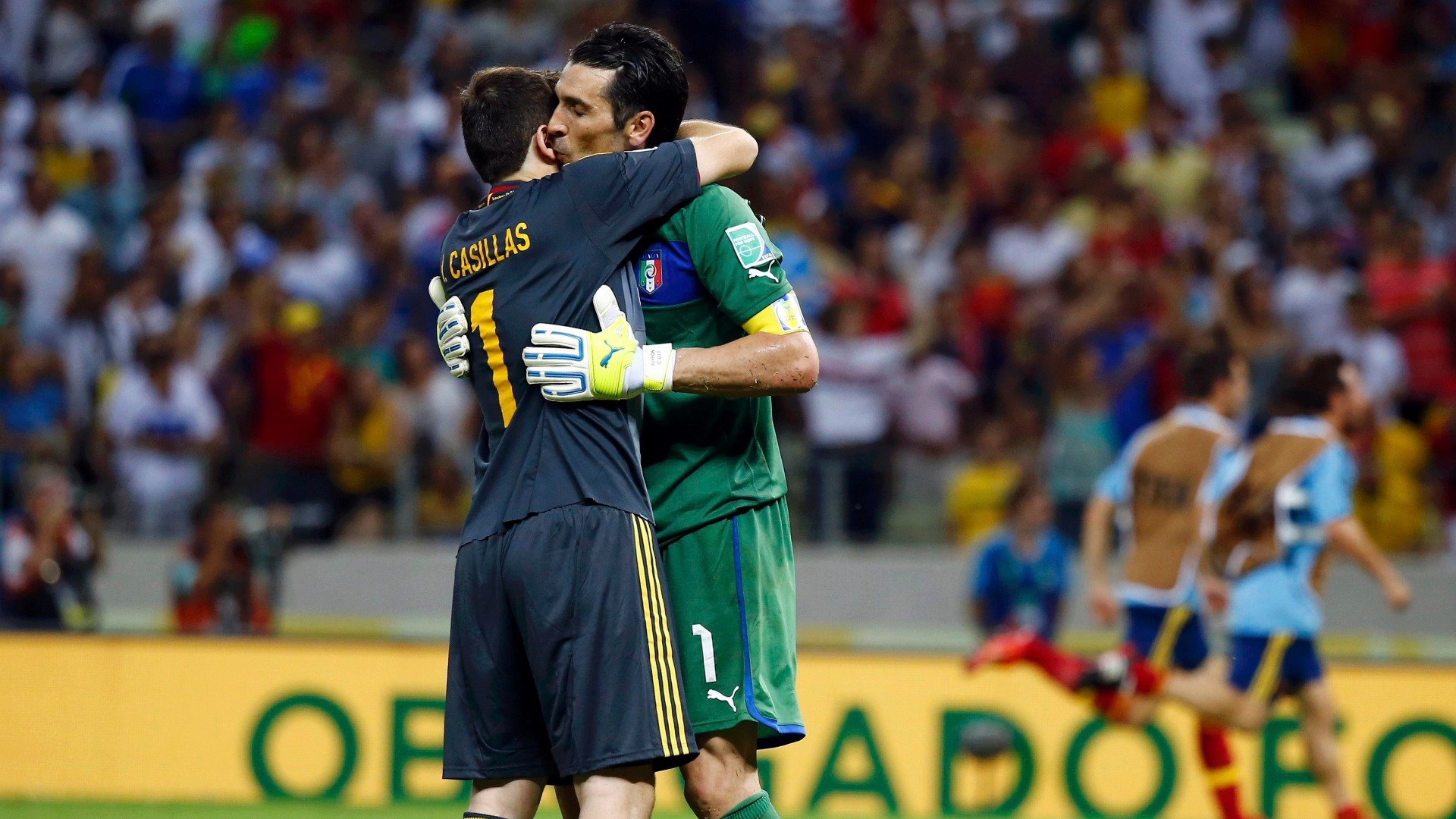 Buffon e Casillas na visão de antigos colegas!