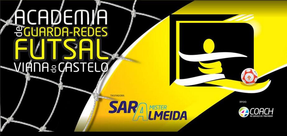 Nasceu a primeira academia para guarda-redes de Futsal!