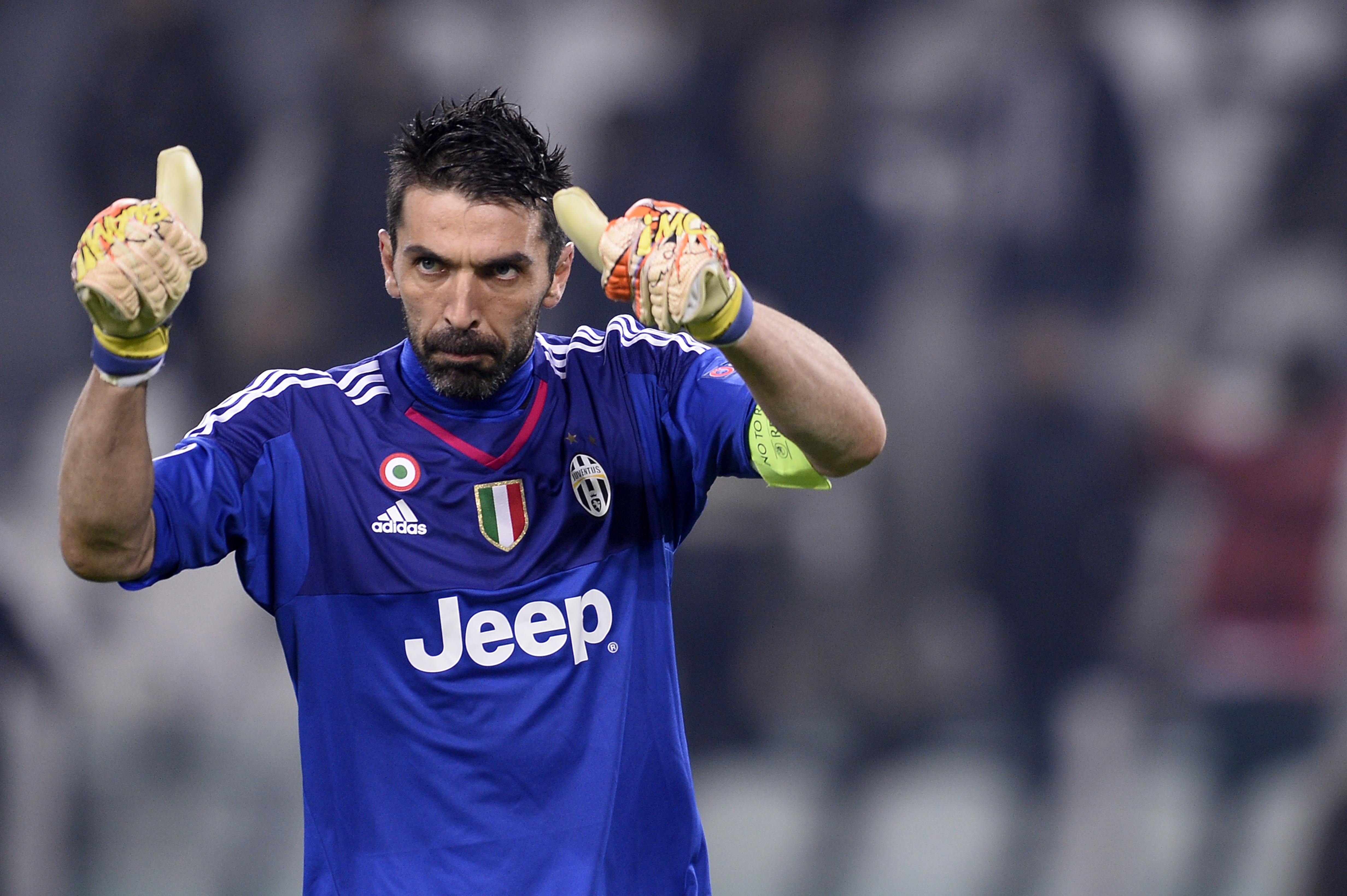 A homenagem original da Juventus a Buffon!