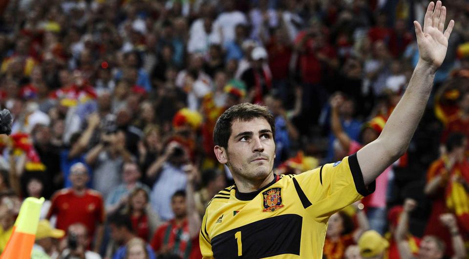 Casillas abdica da seleção?