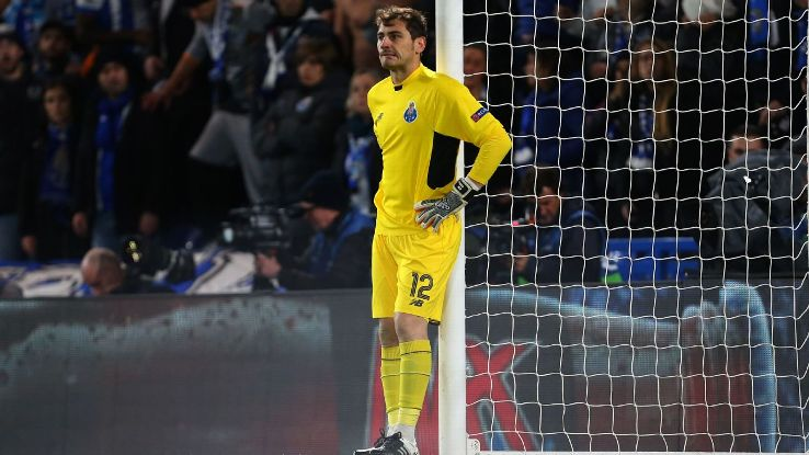 Casillas na defesa e no falhanço do ano… (video)