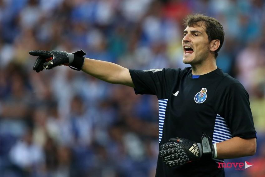 """Casillas é """"dragão"""" até 2018!"""