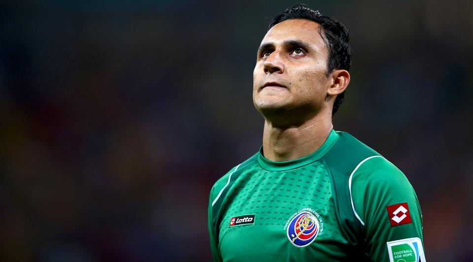Keylor Navas fora da Copa América