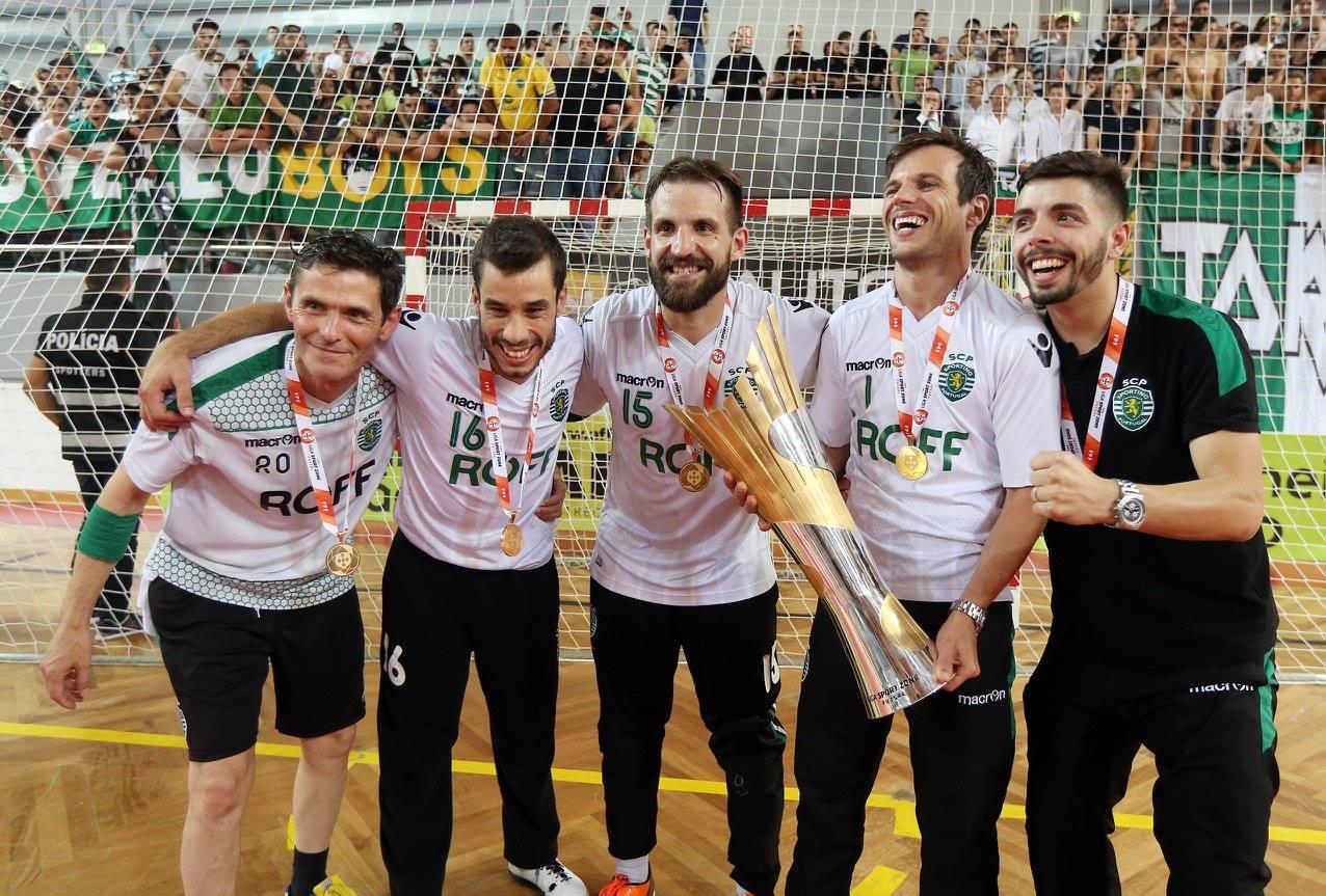 (Futsal) Registo defensivo histórico para o título!