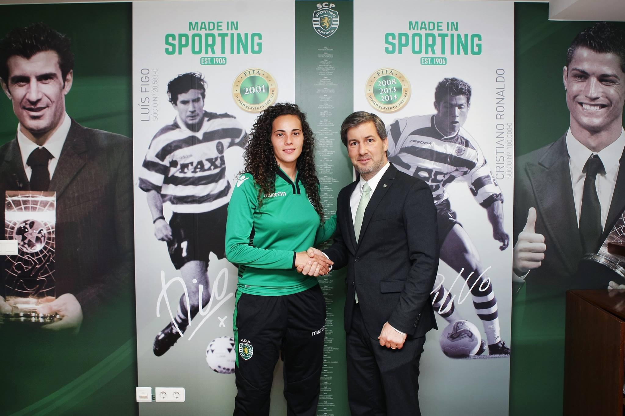 (Fut.Fem) Titular de Portugal assina pelo Sporting CP
