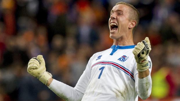 1# À atenção de Portugal: A baliza islandesa para o Euro'16