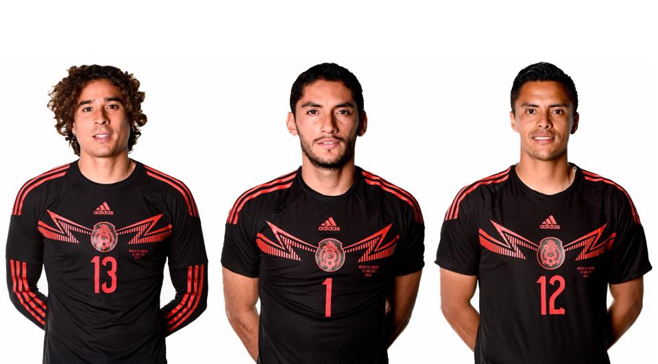 México: 3 jogos, 3 guarda-redes!
