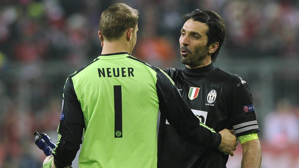 Neuer e Buffon no Top 10 de jogadores na Europa