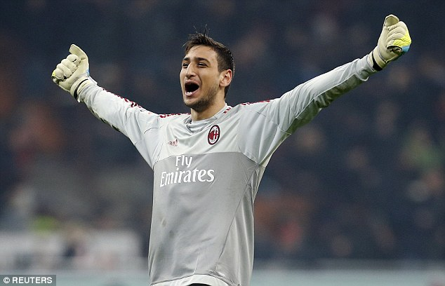 A defesa brutal de Donnarumma contra a Juventus (video)