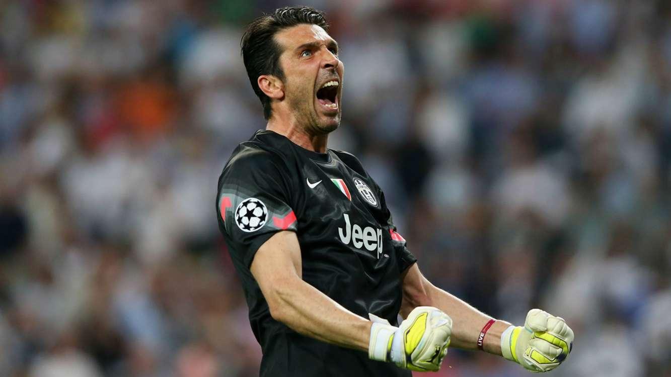 Buffon chega à centena de jogos na Champions