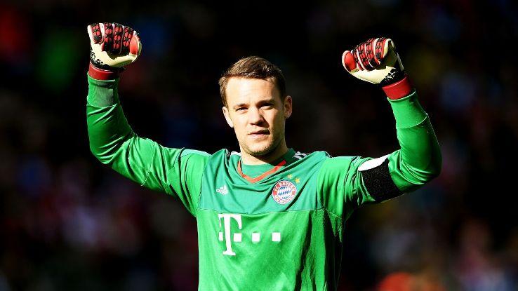 """Neuer-Show em """"pré-época"""" do Bayern (video)"""