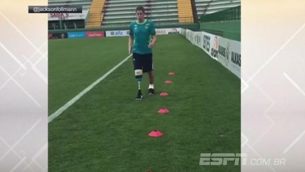 Follmann em recuperação! (video)