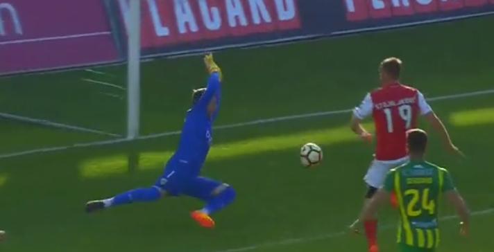 A incrível intervenção de Claudio Ramos para nova manutenção! (video)