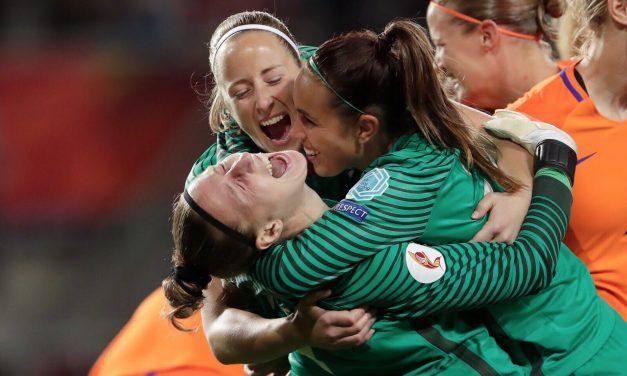 Elas sonharam e conquistaram. Só com vitórias numa baliza trancada ao limite. Eis Holanda Fut Feminino.