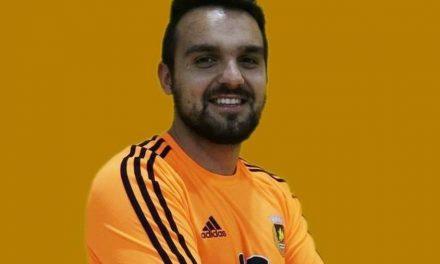 """(Futsal) Um dia para o """"miúdo"""" Moreira não esquecer. Recorde de defesas?!"""