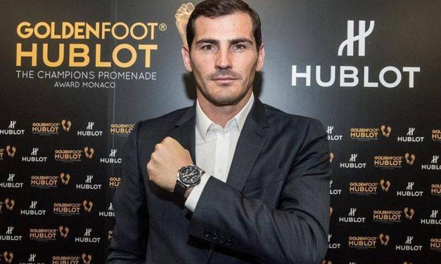 Iker Casillas vence Golden Foot 2017!
