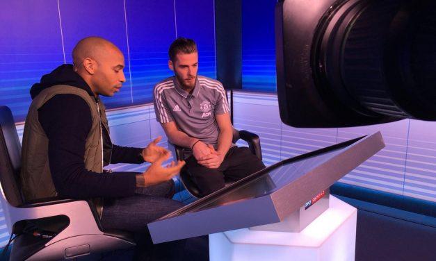 A formidável entrevista de De Gea com Henry. Muitas lições! (video)