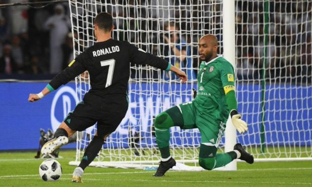 "O ""super-homem"" Ali Khaseif contra o Real Madrid. Assombroso! (video)"