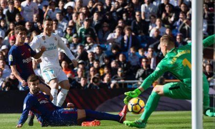 Com o pé também se defende: Ter-Stegen a remate de Ronaldo (video)