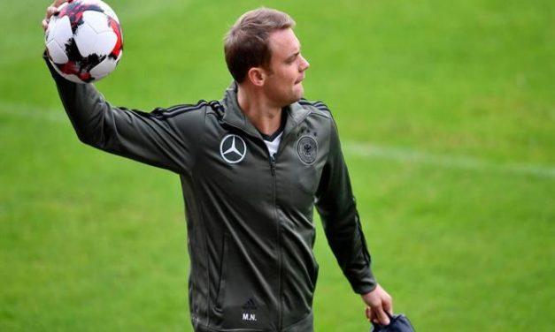 """""""Sem dúvida que estou apto para o Mundial'18!"""". Neuer sobre a sua recuperação"""