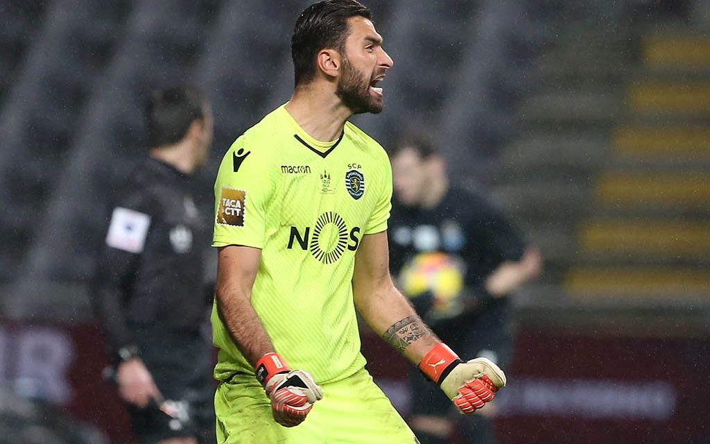 O desempate por penaltis – Sporting x Porto. Rui Patrício vs Iker Casillas (video)