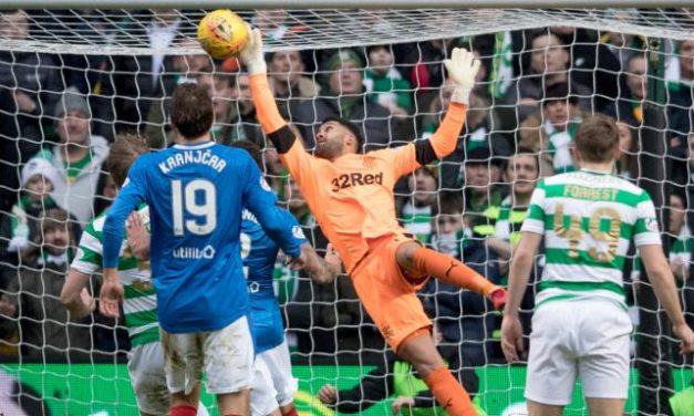 As estrelas do grande derby de Glasgow de final de ano… estiveram nas balizas! (video)