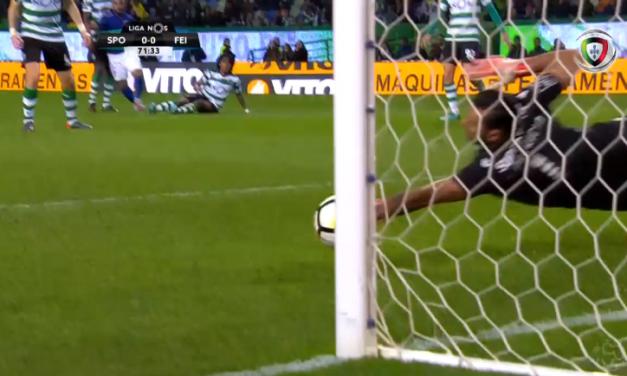 Rui Patrício vs Feirense: Daquelas defesas que dão (mesmo) vitórias! (video)