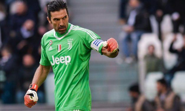Lições de posicionamento, apoios fixados e reajustes – Gianluigi Buffon, 2017/18 (video)