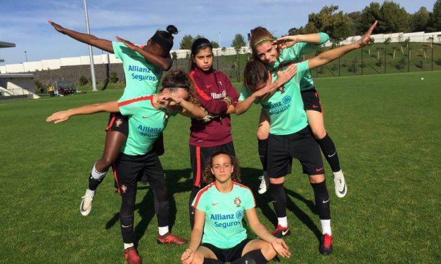 🇵🇹 Esta selecção feminina de futebol é muito boa… mas a jovem Inês Pereira é demais!