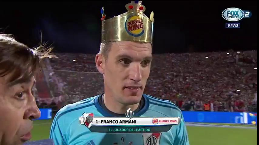 Franco Armani: O Rei (coroado) da Supercopa Argentina! (video)