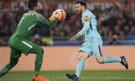 Na simplicidade das acções se encontra a perfeição. Alisson contra o Barcelona em dia histórico (video)