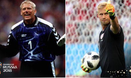 De pai para filho. A herança da família Schmeichel na Dinamarca e no Mundial (video)