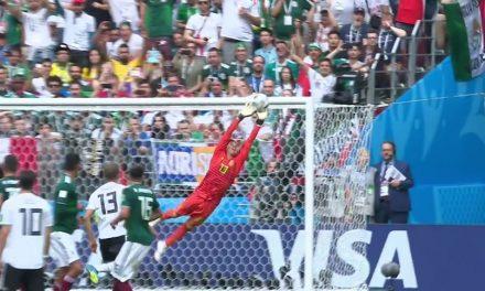 A defesa incrível de Memo Ochoa contra a Alemanha, no Mundial'18! (video)
