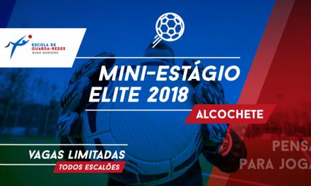 (Evento) Mini-Estágio de Elite (30 Ago-2 Set) pela Escola de GR Nuno Monteiro