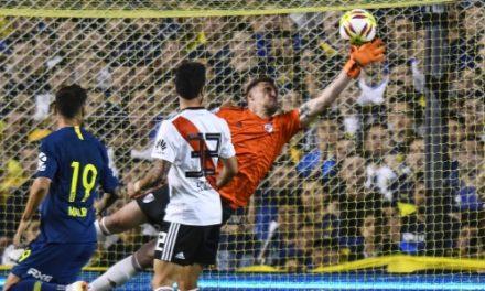 """No """"super"""" Boca-River, Armani volta a brilhar com uma defesa brutal… (VIDEO)"""
