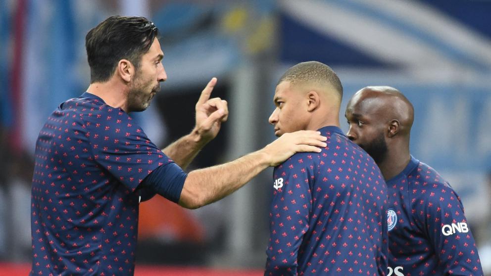 """Quando a """"lenda"""" Buffon fala, todos respeitam. Mbappé não é excepção… (VIDEO)"""