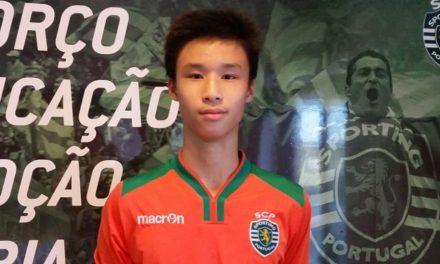 O sensacionalismo desmedido perante um gigante chinês de 15 anos, reforço do Sporting CP. O que esperam do guardião?