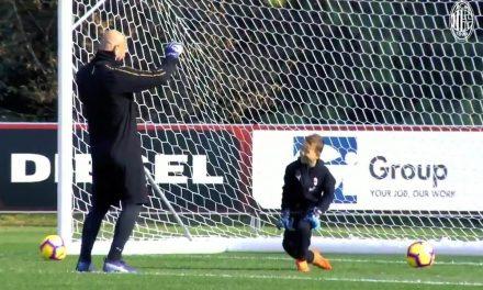 Pepe Reina a treinar com o seu filho… haja talento nesta família de guarda-redes! (VIDEO)