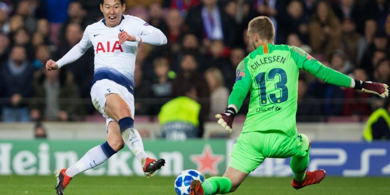 Cillessen é um dos melhores do mundo… com poucos minutos de jogo. O show contra o Tottenham (VIDEO)