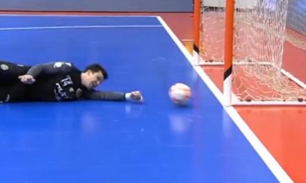 A incrível defesa de Guitta perto da linha de golo… Que recuperação! (VIDEO)
