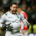 Penaltis: Renan e Marafona num duelo entre gigantes nas balizas (VIDEO)
