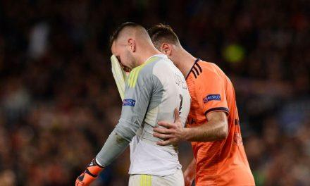 Anthony Lopes começou a brilhar em Barcelona e saiu a chorar após choque forte contra adversário… (VIDEO)