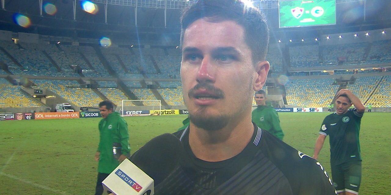 Tadeu: Um penalti defendido, em estreia na Serie A, e uma declaração sincera (VIDEO)