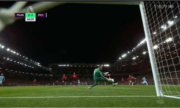 De Gea: O uso do pé para defender. E o bom e mau uso (VIDEO)
