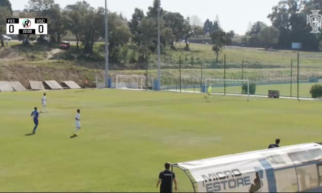 Uma defesa inacreditável do, jovem sub-23, Tiago Silva! (VIDEO)