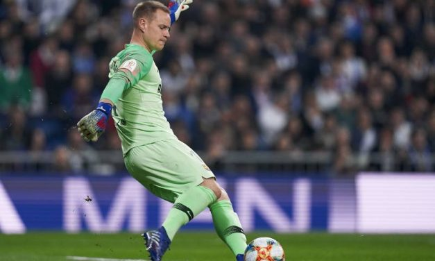Defender a profundidade defensiva e explorar a ofensiva: Ter-Stegen! (VIDEO)