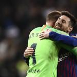 Tem sido Ter-Stegen e Messi e mais 9 no Barcelona. Em Madrid, o alemão segurou até o argentino resolver! (VIDEO)