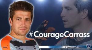 A transmissão de coragem por parte do seu clube - Foto retirada do Facebook oficial do FC Girondins de Bordeaux